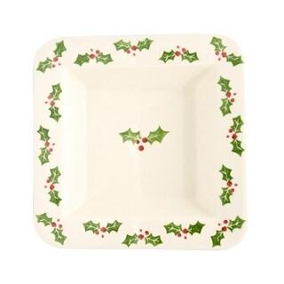 Euro Ceramica Natal Square Platter