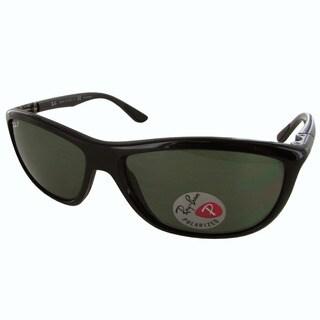 Ray-Ban Polarized RB8351 Mens Black Frame Polarized Green Classic G-15 Lens Sunglasses