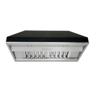 Link to KOBE IN26 SQB-650-5A Deluxe 30 or 36-inch Built-In/ Insert Range Hood, 6-Speed, 700 CFM, LED Lights, Baffle Filters Similar Items in Large Appliances
