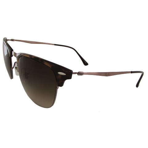 Ray-Ban Clubmaster Light Ray RB8056 Mens Brown Frame Brown Lens Sunglasses