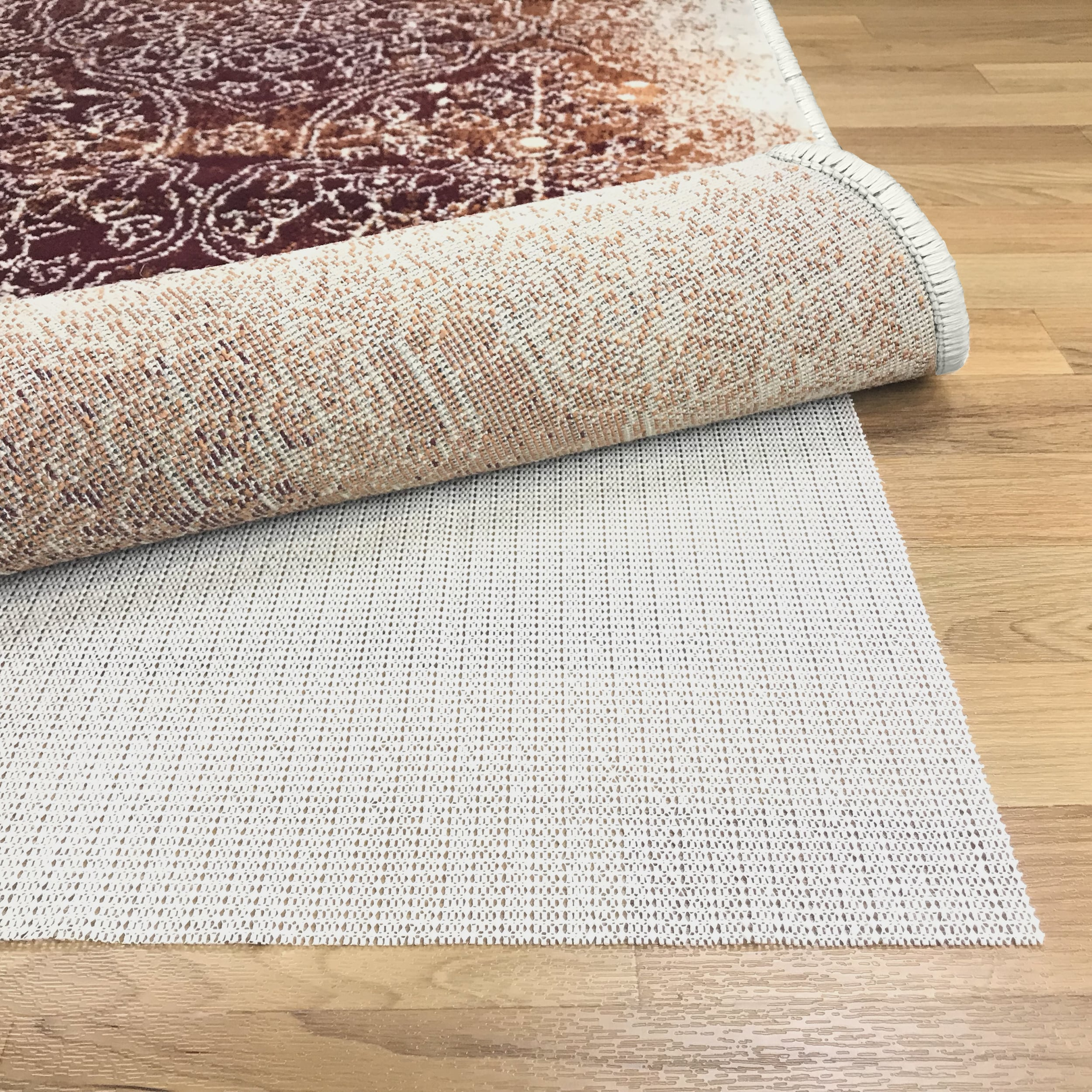 Superior Non Slip Reversible Hard Surface Area Rug Pad 6 X 9 Beige