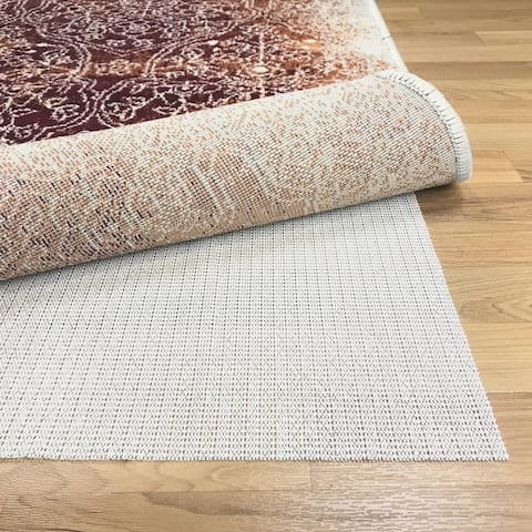 Superior Non-Slip Reversible Hard Surface Area Rug Pad (6' X 9') - Beige - 6' x 9'