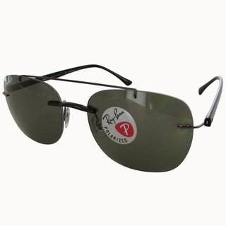 c6ee5fd8c42 Shop Ray-Ban RB3025 58mm Aviator Sunglasses - Black - Free Shipping ...