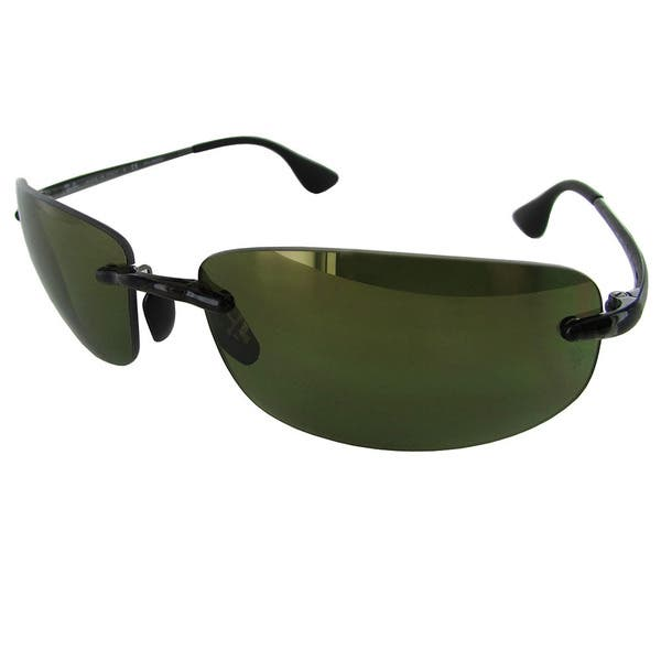 91c8fca3fb Shop Ray-Ban Chromance RB4254 Mens Grey Frame Green Lens Sunglasses ...