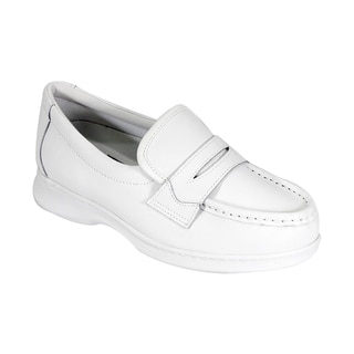 24 HOUR COMFORT Annie Women Extra Wide Width Moccasin Penny Loafer