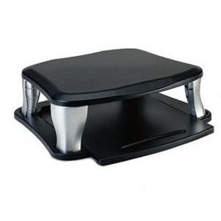 UNIV MONITOR STAND UP TO 100 ACCSLBS TWO HEIGHT SETTINGS - BLACK