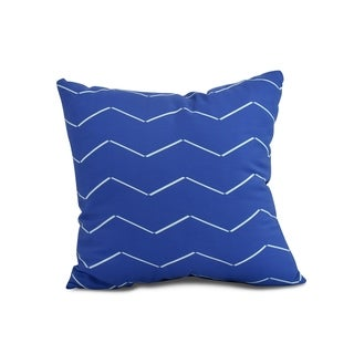 20 x 20 inch Harlequin Stripe Geometric Print Pillow