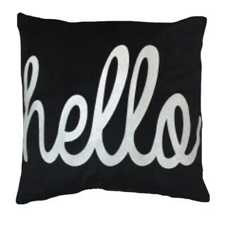 Hello Decorative Throw Pillow