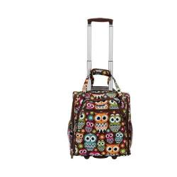 Rockland 15in Melrose Wheeled Underseat Carry On BF31 Owl