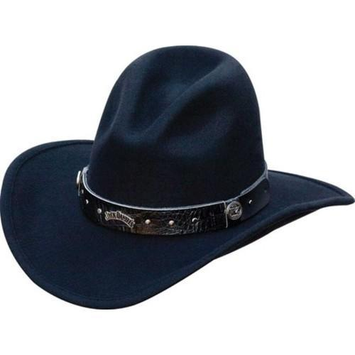 JACK DANIEL'S JD03-111 Cowboy Hat Black (US L (Hat 7 1/4-...