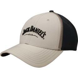 Jack Daniel's JD77-104 Baseball Cap Khaki/Black