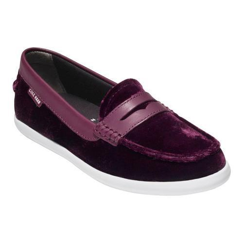 24b46fe31cd Women  x27 s Cole Haan Pinch Weekender Loafer Malbec Velvet Malbec Leather
