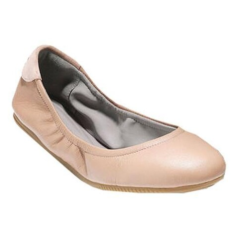 Women's Cole Haan Studio Grand Ballet Flat Maple Sugar Leather/Ivory