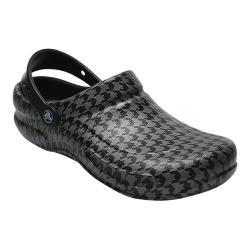 Crocs Bistro Graphic Clog Black/Silver Metallic