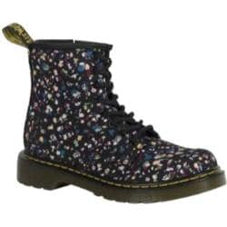 Children's Dr. Martens Delaney 8 Eye Side Zip Boot - Junior Multi Courtney Floral Canvas