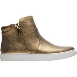 Women's Kenneth Cole New York Kiera Sneaker Gold Leather