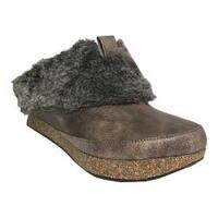 Women's MODZORI Jada Reversible Platform Clog Brown Fur/Brown Reversible