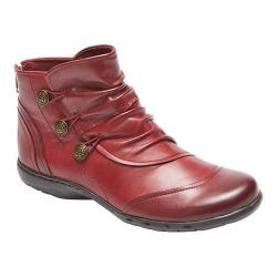 Women's Rockport Cobb Hill Penfield Slouch Boot Bordeaux Leather