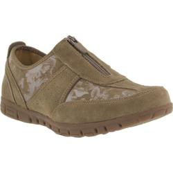 Women's Spring Step Mitzy Sneaker Taupe Suede