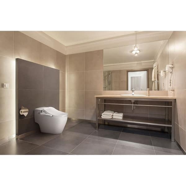 Phenomenal Shop Slim Two Smart Toilet Seat Bidet And Wireless Remote Ibusinesslaw Wood Chair Design Ideas Ibusinesslaworg