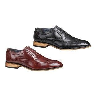 UV Signature Men's Wing-tip Brogue Dress Shoes