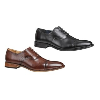 UV Signature Men's Lace-up Cap Toe Dress Shoes