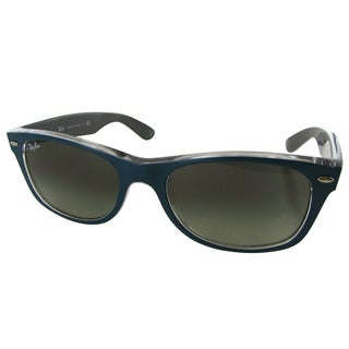 Ray-Ban New Wayfarer Classic RB2132 Women Blue Frame Blue Lens Sunglasses