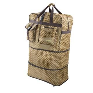 AMKA WB Print 36-Inch Expandable Rolling Bag