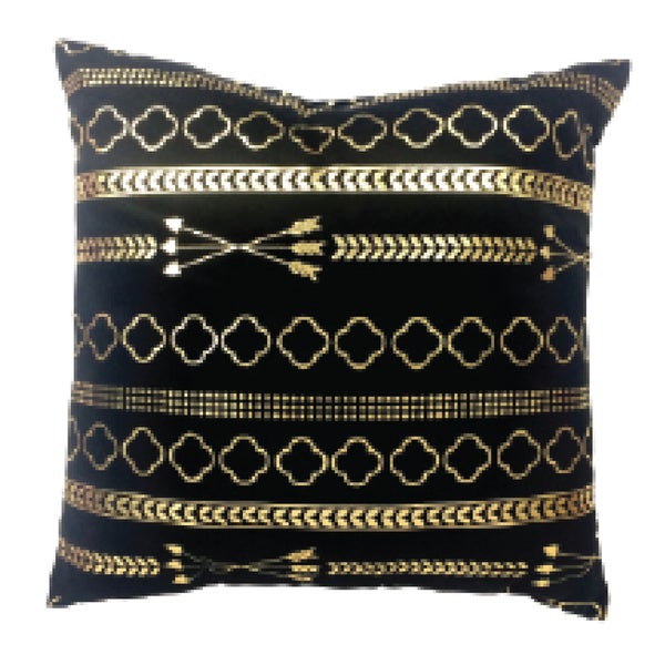 Shop Black And Gold Decorative Throw Pillow On Sale Free Classy Black And Gold Decorative Pillows