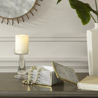 Madison Park Olivia Black/ White Resin Box - Small
