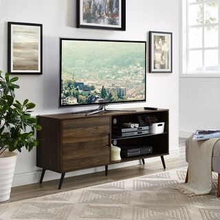 52-inch TV Stand with Black Legs