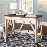 "46"" Rustic Farmhouse A-Frame Desk"