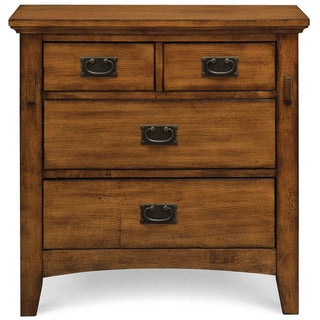 Cambridge Sadona Brown Wood 4-drawer Nightstand