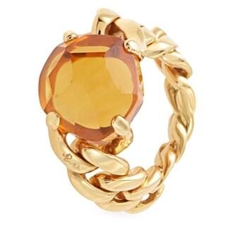 Lola Rose Gold Madera Quartz Ring A.A507/O7/OV