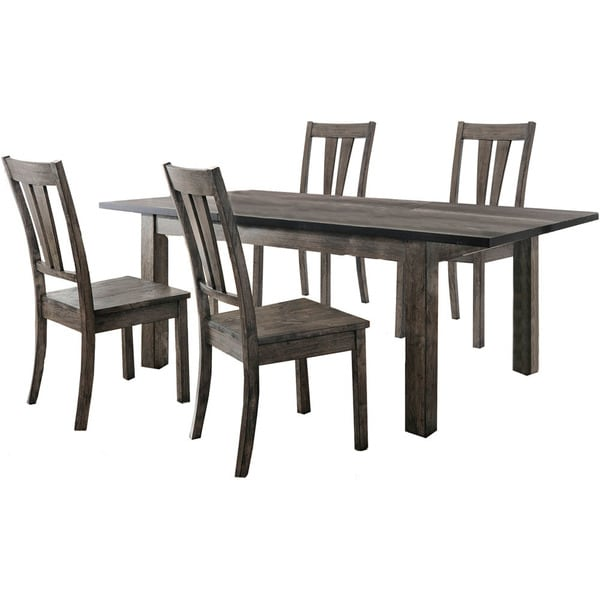 Cambridge Drexel 5 Piece Dining Set With Four Wooden Chairs