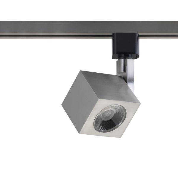 Led Track Lighting Brushed Nickel: Shop Brushed Nickel Integrated LED Track Lighting Head