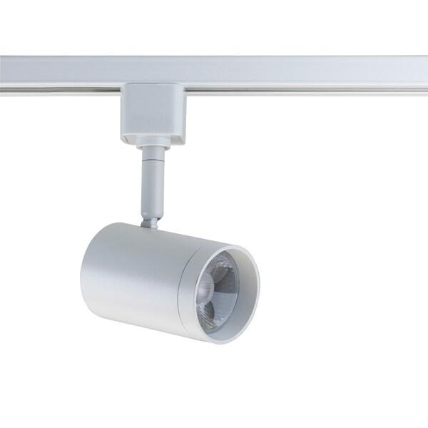 Led Track Light Head White: Shop White Integrated LED Track Lighting Head