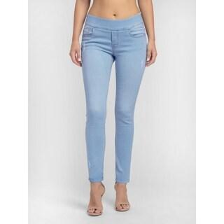 Bluberry Women's Lucy Light Blue Slim leg denim