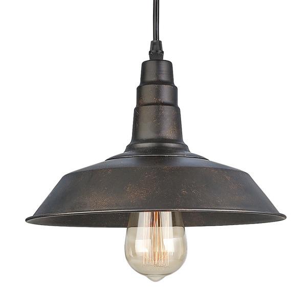 Shop LNC Rust Pendant Lighting Indoor Pendant Lights