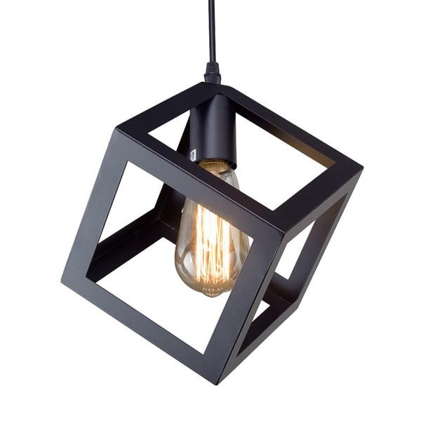 Square Light Fixtures: Shop LNC Square Pendant Lighting Ceiling Lights Hanging