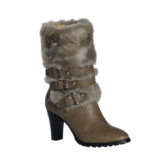 Women's 'Telluride' Fur Trim Boots with Buckles