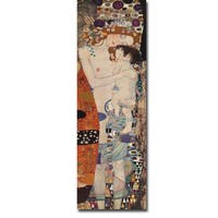Three Ages of Woman by Gustav Klimt Gallery-Wrapped Canvas Giclee Art