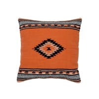 Handmade Herat Oriental Indo Cotton 20'' Throw Pillows (Set of Two)
