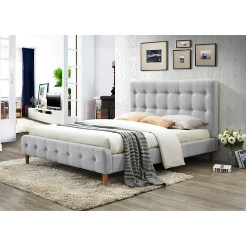 Carson Carrington Laugarvatn Upholstered Platform Bed Queen