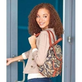 Lauren and Company Fashion Canvas Backpack