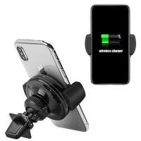Wireless Charging Qi Standard Air Vent Car Mount for Iphone 8