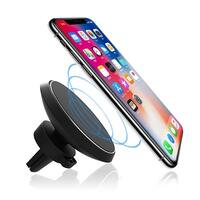 Magnetic Qi Wireless Charging Air Vent Car Mount For Iphone 8 Iphone