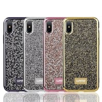Iphone X Diamond Platinum Collection Soft Tpu Case