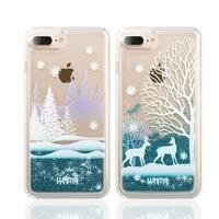 Iphone 8 / 7 Plus Waterfall Fusion Liquid Sparkling Quicksand Case