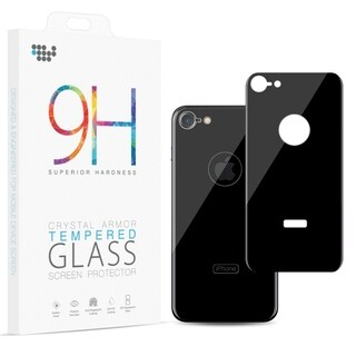 Iphone 8 Back Cover Tempered Glass Rare Plate Protector
